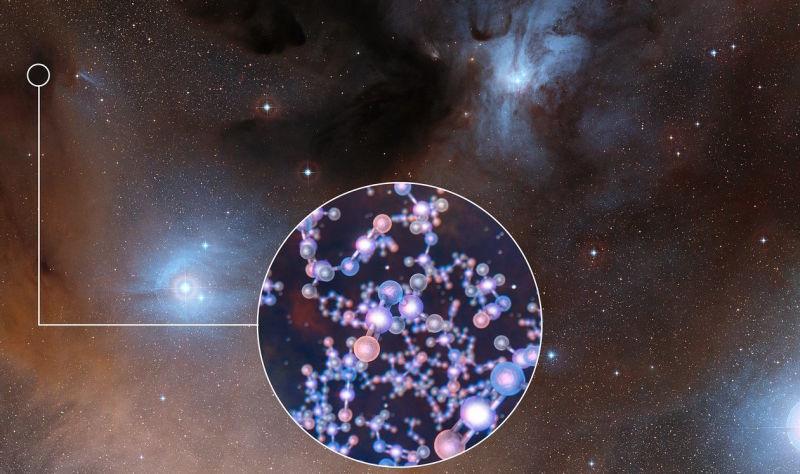 Resultado de imagen de Así han detectado moléculas orgánicas complejas
