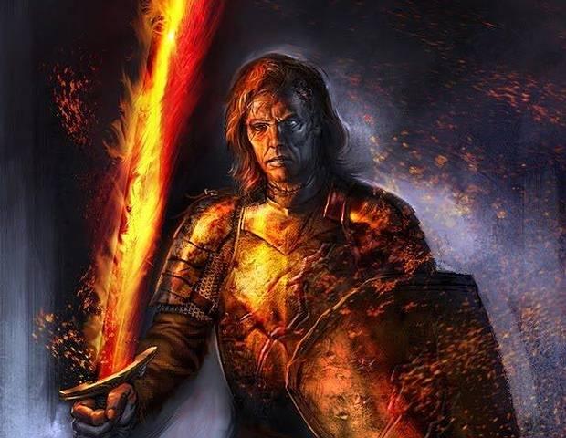 En 'Game of Thrones' se dice que durante la Larga Noche, Azor Ahai se levantó y, en la Batalla por el Amanecer, venció a los Otros, blandiendo una espada de fuego llamada Dueña de Luz.