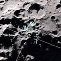 Post thumbnail of Descubierta escarcha superficial en el polo sur de la Luna