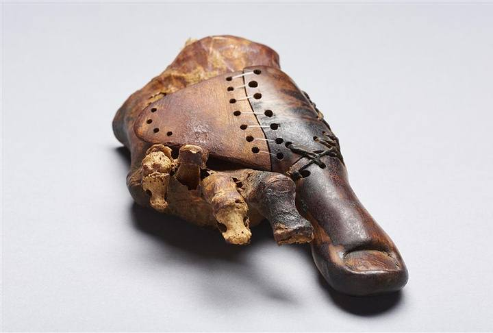 La ancestral prótesis se encuentra actualmente en el Museo de El Cairo.