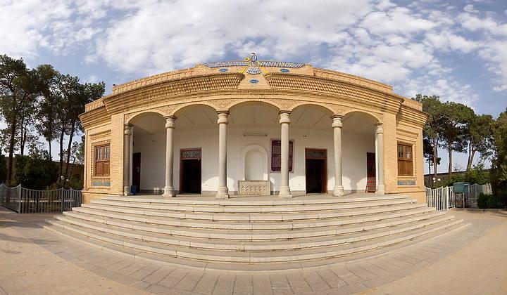 Los zoroastristas acuden a templos de fuego, como éste, el templo de Yazd, en Irán.