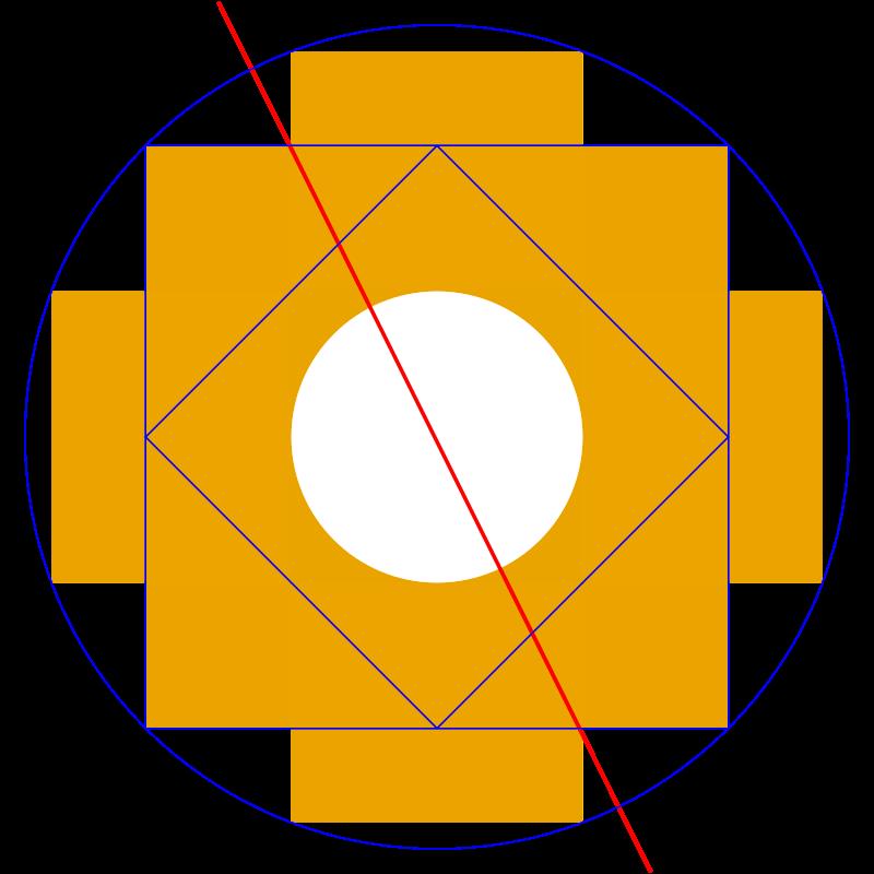 Diseño de chakana.