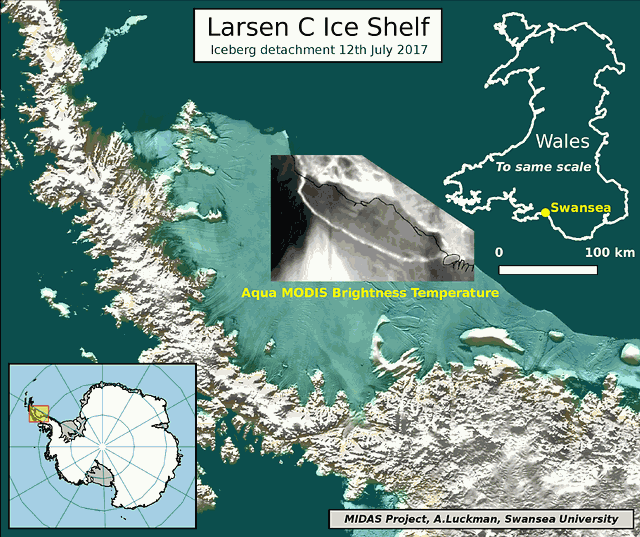 larsen-detachment-map