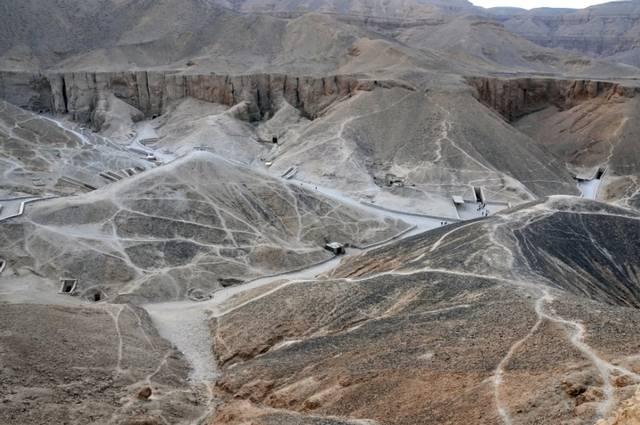 Valle de los Reyes, necrópolis del antiguo Egipto, en las cercanías de Lúxor.