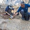 Post thumbnail of Arqueólogos descubren un mosaico cristiano de 1.500 años de antigüedad en Jerusalén