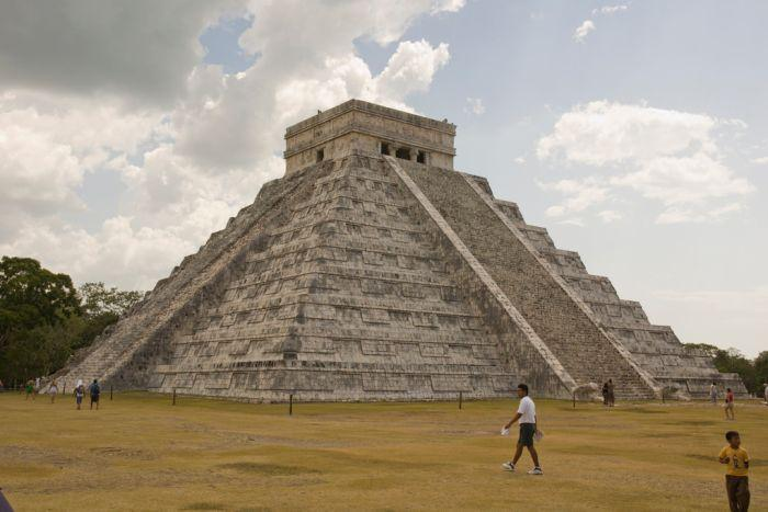 El Templo o Pirámide de Kukulkán.