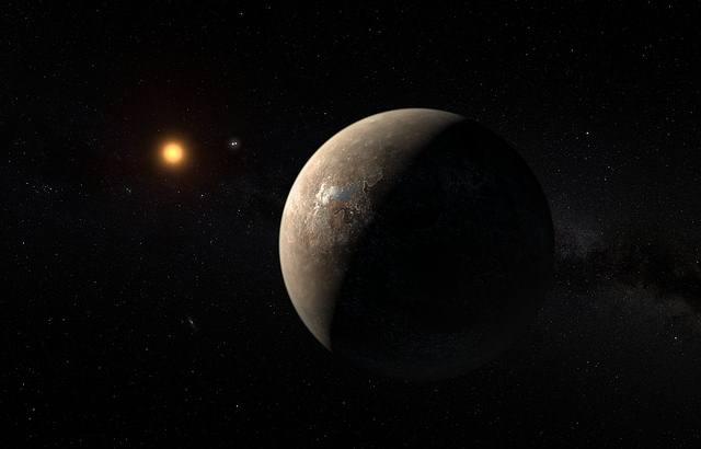 El exoplaneta potencialmente habitable Próxima b será uno de los objetivos de este nuevo plan de contacto.