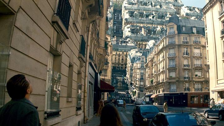 Escena de la película 'Inception'.