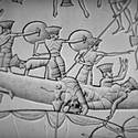 Post thumbnail of Descifran un grabado en piedra de hace 3.000 años sobre los misteriosos pueblos del mar