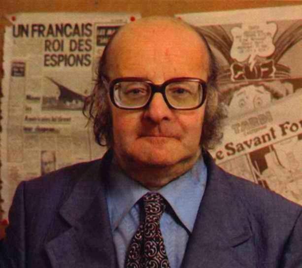 Jacques Bergier (1912-1978) fue un ingeniero químico, alquimista, espía, periodista, y escritor francés de origen askenazi. Fue autor de obras como 'El retorno de los brujos', 'Guerra Secreta bajo los Océanos', 'Extraterrestres en la Historia', 'El planeta de las posibilidades imposibles', 'La Guerra Secreta del Petróleo', entre otras muchas. Debido a su fama de «sabio despistado» fue incluido por el dibujante belga Hergé en una de las aventuras de Tintín, concretamente la titulada 'Vuelo 714 a Sidney'.