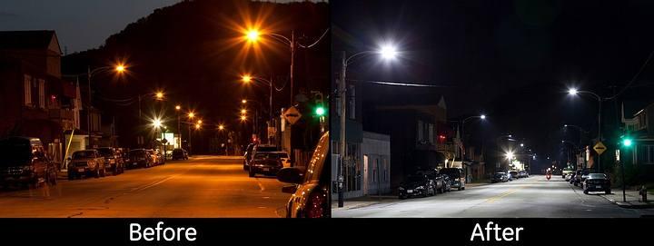 El uso de iluminación LED es dramático en la visibilidad que se logra durante la noche, pero ese «milagro» tiene también consecuencias perjudiciales.