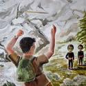 Post thumbnail of El caso del pintor que fue atacado por un arma extraterrestre