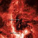 Post thumbnail of ¿Qué es esta misteriosa «serpiente» en el gran agujero negro de nuestra galaxia?