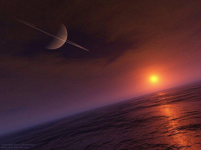 El fósforo y el oxígeno, que se encuentran en las membranas de las células de la Tierra, no existen en los fríos océanos de metano de Titán, por lo que cualquier membrana similar a una célula tendría que estar basada en nitrógeno, hidrógeno y carbono, todos abundantes en Titán.