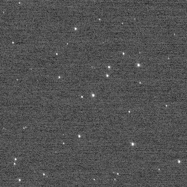 Cúmulo galáctico NGC 3532. Crédito: New Horizons/NASA.