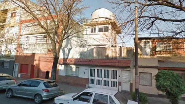 Buso creó en su casa el Observatorio Busoniano. (Foto: Google Street View).