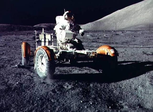 APOLO 17 -- El último hombre en la Luna.