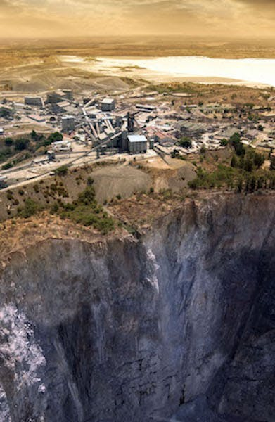 Mina de diamantes Cullinan, Sudáfrica.