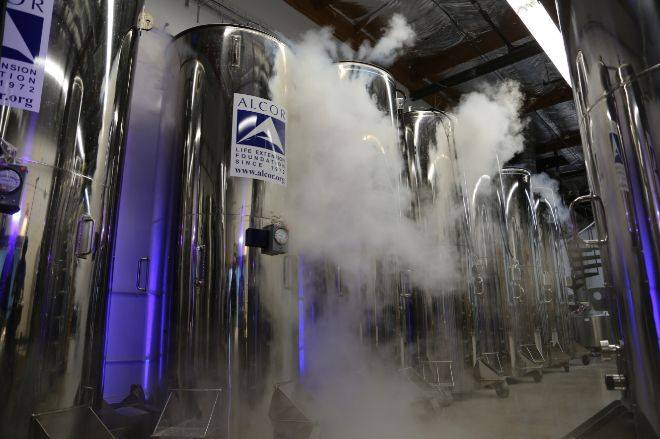 Instalaciones de Cryonics Alcor, una de las empresas de criogenización de EE.UU.