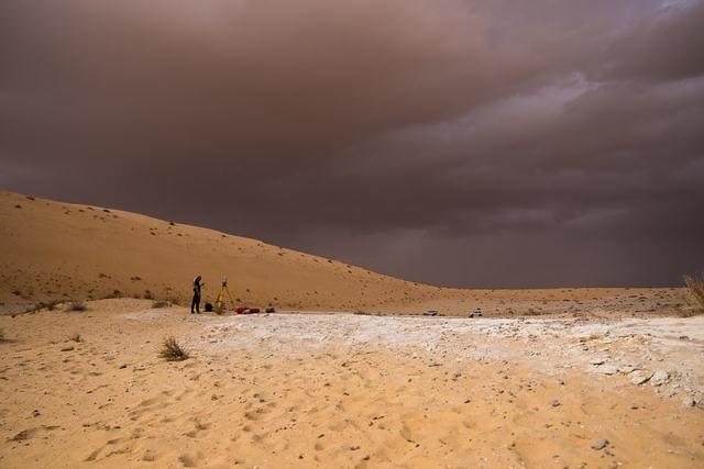 Yacimiento arqueológico de Al Wusta, Arabia Saudita.