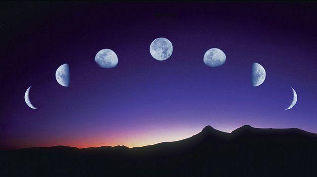La magia de la luna y su influencia en el plano f sico y for Fases de la luna hoy