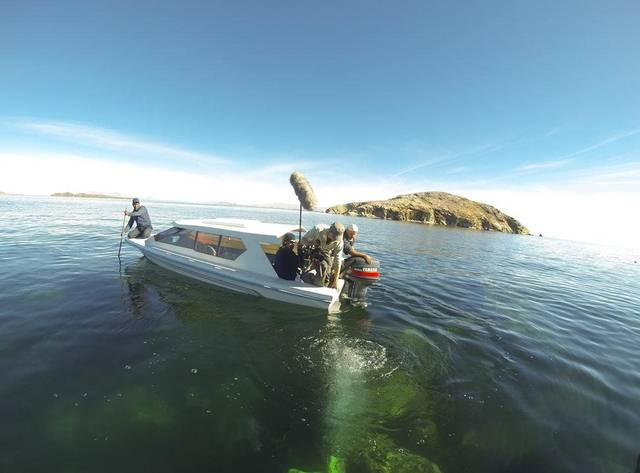 Lago Titicaca en la actualidad.