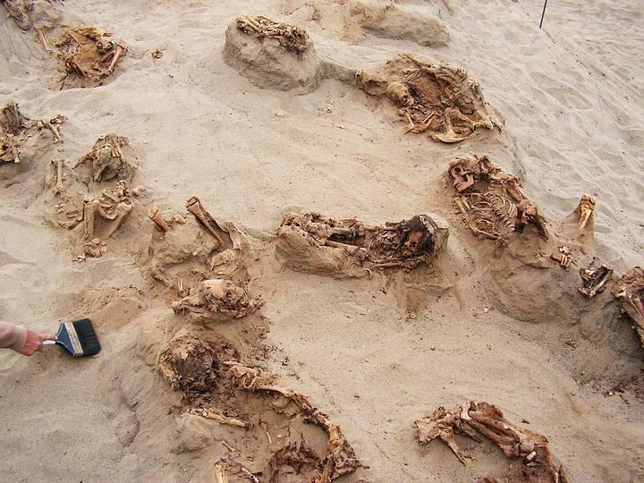 La mayoría de las víctimas del ritual tenían entre 8 y 12 años cuando murieron.