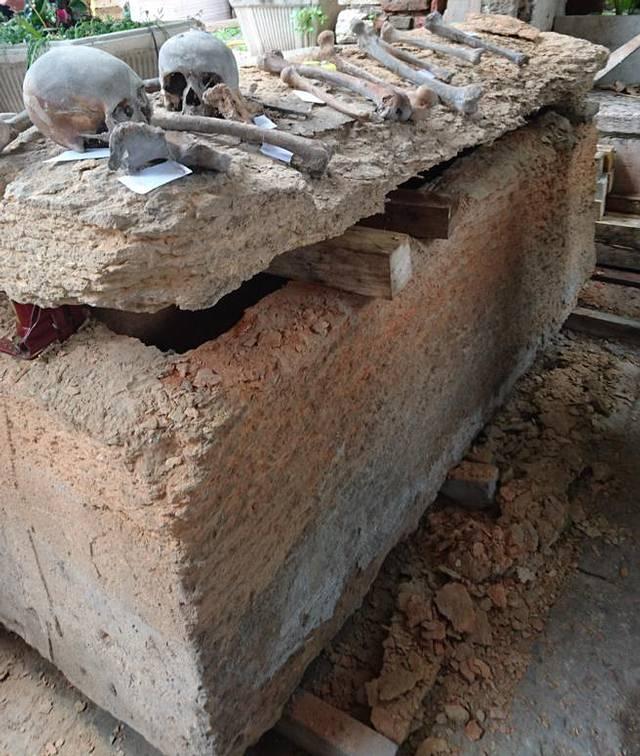 El sarcófago templario de Verona.