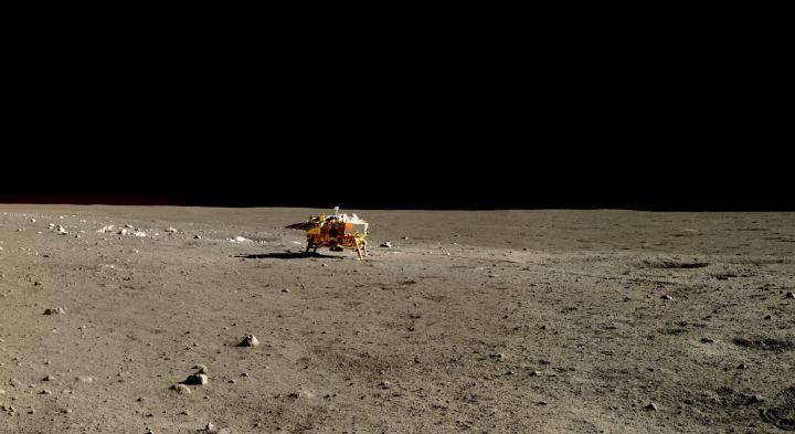 Misión de exploración lunar Chang'e 3, la antecesora.
