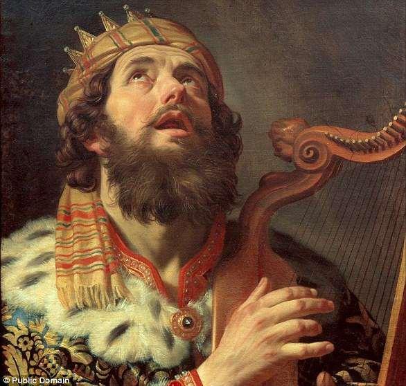 La historia de David figura en la Biblia, en los Libros del profeta Samuel y en el Libro de los Salmos. David fue uno de los grandes gobernantes de Israel y padre de otro de ellos, Salomón. Es venerado como rey y profeta en el judaísmo, el cristianismo y el islam.