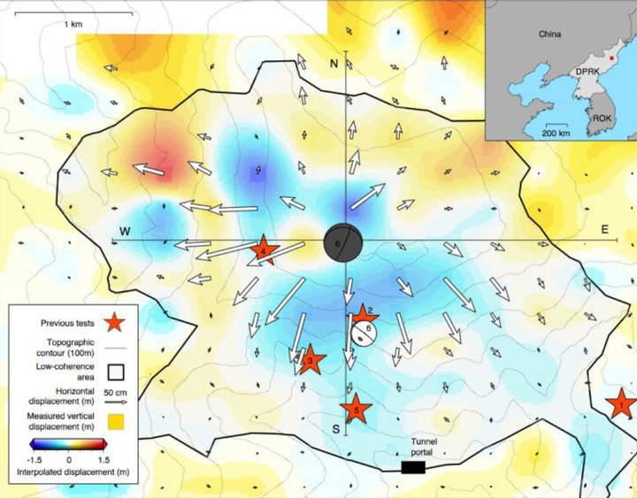 Con el método de radar de apertura sintética (SAR), se envían ondas de radiación electromagnética a la tierra para medir el rebote.