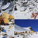 Post Thumbnail of Impactantes imágenes revelan la contaminación del Monte Everest